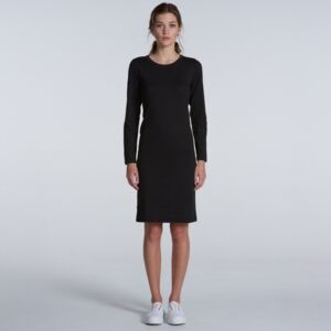 Womens Mika Long Sleeve Dress Thumbnail
