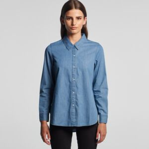 BLUE DENIM SHIRT Thumbnail