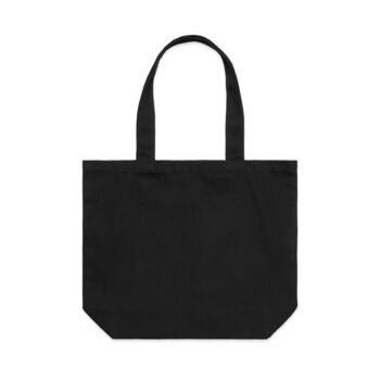 Shoulder Tote in Black Thumbnail